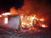 Գյումրիում վագոն-տնակ է այրվել