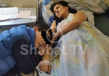 11-ամյա երեխան փորձում է փրկել մոր կյանքը