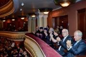 Президент присутствовал на премьере музыкальной постановки