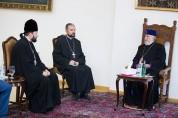 Ամենայն Հայոց կաթողիկոսը Ռուս եկեղեցու համայնքների կառավարչի հետ քննարկել է հետագա ծրագրեր...