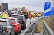 Բավարիայում 17 ավտոմեքենա է իրար բախվել խոշոր վթարի ժամանակ (լուսանկարներ)
