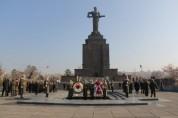 «Հաղթանակ» զբոսայգում նշվում է Հայրենիքի պաշտպանի օրը