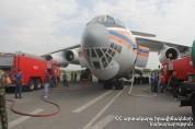 ՌԴ «ԻԼ-76» ինքնաթիռը Խոսրովի անտառում իրականացնում է 12-րդ թռիչքը