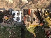 Զենք-զինամթերքի հայտնաբերում Արագածոտնի մարզի Արուճ գյուղում (լուսանկարներ)