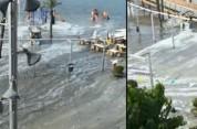 Իսպանական կղզիների ափերը հեղեղվել են ցունամիի պատճառով (տեսանյութ)