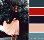 Գույների 20 իդեալական համադրություն  հագուստի համար (լուսանկարներ)