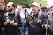 Օր 9-րդ․ Երևանում շարունակվում են բողոքի գործողությունները (ուղիղ միացում)