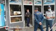 Արտակարգ դեպք Լոռու մարզում. Վանաձորում ձայնային նռնակով պայթեցրել են տեղի ձկան խանութը