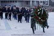 Հարգանքի տուրք՝ Հայրենական մեծ պատերազմի և Արցախյան ազատամարտի զոհերի հիշատակին (տեսանյութ)