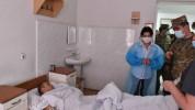 Այցելել եմ Ստեփանակերտի կենտրոնական զինվորական հոսպիտալ. Աննա Հակոբյան