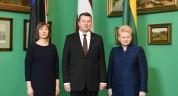 Президенты стран Балтии 31 июля встретятся в Таллине с вице-президентом США