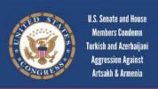 ԱՄՆ կոնգրեսականները դատապարտել են Ադրբեջանի և Թուրքիայի ագրեսիան