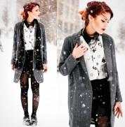 Ինչպես նորաձև տեսք ունենալ ձմռանը (ֆոտոշարք)