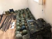 Ռազմական ոստիկանության կողմից զինամթերք և զինվորական հանդերձանք է հայտնաբերվել