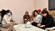 Լենա Նազարյանի հետ այսօր այցելեցինք անմահացած հերոս Վրեժ Պողոսյանի ընտանիքին. Աննա Հակոբյա...