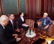 Սերժ Սարգսյանն ընդունել է «Կոնրադ Ադենաուեր» հիմնադրամի տարածաշրջանային տնօրենին