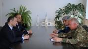 Արմեն Գրիգորյանն ու Լևոն Մնացականյանը քննարկել են ՊԲ սպառազինության համալրմանն ու ռազմական...