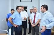 Առողջապահության նախարարը այցելել է Արմավիրի մարզի բուժհաստատություններ