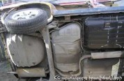 Վթարի է ենթարկվել «Արարատ ՃանՇին» ՓԲԸ-ին պատկանող «Hino» մակնիշի բեռնատարը
