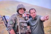 Դավիթ Տոնոյանը հանրապետության հարավ-արևամտյան սահմանագոտում (Ֆոտոշարք)