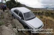 Վթար Երևան-Իջևան ավտոճանապարհին. մեքենան ընկել է ձորը