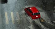 Հորդարատ անձրև Արցախում. ջուրը լցվել է խանութները, շենքի նկուղը, ավտոտնակը