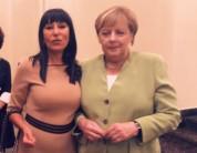 Նաիրա Զոհրաբյանը՝ Անգելա Մերկելի հետ