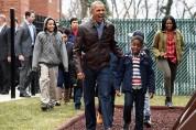 Օբամաները Սպիտակ տան բակում հանդիպել են անօթևան երեխաների հետ