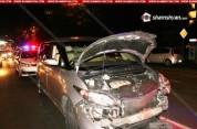 Բաղրամյան պողոտայում տեղի ունեցած վթարի հետևանքով երկու հոգի տեղափոխվել է հիվանդանոց