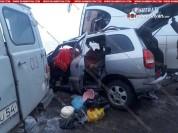 Ողբերգական ավտովթար Երևան-Մեղրի ճանապարհին