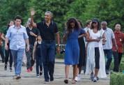 Օբամաներն արևադարձային Բալիից մեկնել են Ճավա (լուսանկարներ)