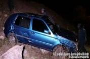 Երևան-Մեղրի ավտոճանապարհին քաղաքացին փորձել է ավտոմեքենայով ինքնասպանություն գործել