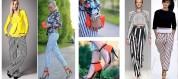 Ինչի հետ կրել գծավոր շալվարը. 25 նորաոճ տարբերակ (ֆոտոշարք)