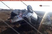 Շիրակի մարզում Toyota-ն դուրս է եկել երթևեկելի գոտուց և գլխիվայր շրջվելով հայտնվել դաշտում...