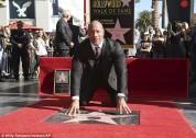 Դուեյն Ջոնսոնն աստղ է ստացել Հոլիվուդի Փառքի ծառուղում
