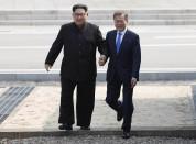 Հյուսիսային և Հարավային Կորեաների ղեկավարները պատմական հանդիպում  են ունեցել (լուսանկարներ...