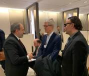 Նիկոլ Փաշինյանը Դավոսում հանդիպել է Apple ընկերության ղեկավար Թիմ Քուկի հետ