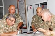 Պաշտպանության բանակում անց են կացվել համաբանակային շտաբային զորավարժություններ