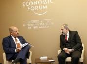 Նիկոլ Փաշինյանը հանդիպել է ՎԶԵԲ նախագահի հետ