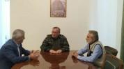 Քիչ առաջ ավարտվեց Արցախի Ազգային ժողովի նախկին նախագահների հետ իմ հանդիպումը. Արցախի ԱԺ նա...