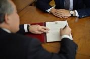 Արմեն Սարգսյանը ստորագրել է կառավարության օպտիմալացման մասին օրենքը