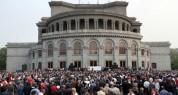 Ազատության հրապարակում «Հանուն Հայաստան պետության» ճակատը երրորդ հանրահավաքն է  անցկացնում...