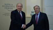 Անտոնիո Գուտերեշը Արմեն Սարգսյանին շնորհավորել է ՀՀ Անկախության օրվա առթիվ