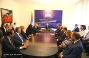 Բակո Սահակյանը մի շարք գերատեսչությունների աշխատակիցներին է ներկայացրել նորանշանակ ղեկավար...