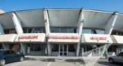 Քամին «Շիրակ» օդանավակայանի տանիքից երկաթյա թիթեղներ է պոկել