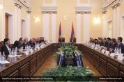 Первое после конституционных реформ заседание межпарламентской комиссии Армении и Арцаха с...