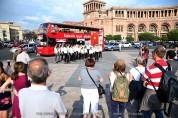 «Մշակութային շրջայց»՝ «Երևան Սիթի Տուր» զբոսաշրջային ավտոբուսով