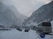 Ստեփանծմինդա-Լարս ավտոճանապարհը բաց է միայն թեթև մարդատար ավտոմեքենաների համար