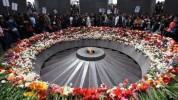 На мемориале Цицернакаберд церемония поминания (прямая трансляция)
