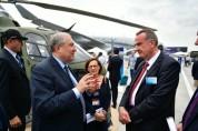 Արմեն Սարգսյանն այսօր այցելել է Լը Բուրժեում անցկացվող Փարիզի միջազգային ավիացիոն ցուցահան...
